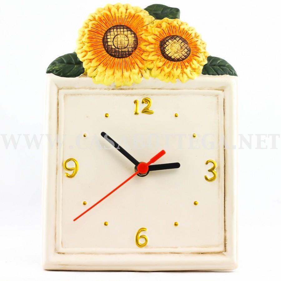 orologio da parete in ceramica - CasaBottega