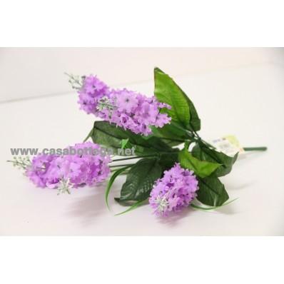 """Bouquet """" Lavanda """" 2 colori 40 h cm"""