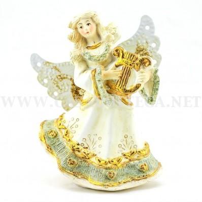 Angeli suonatori con ali in latta