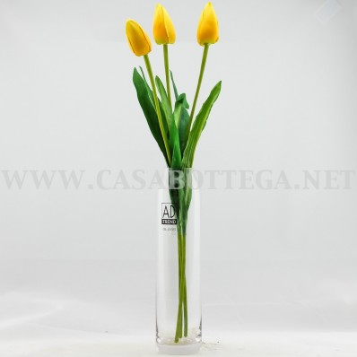 Vaso in vetro per fiori - Portafiori in vetro ...