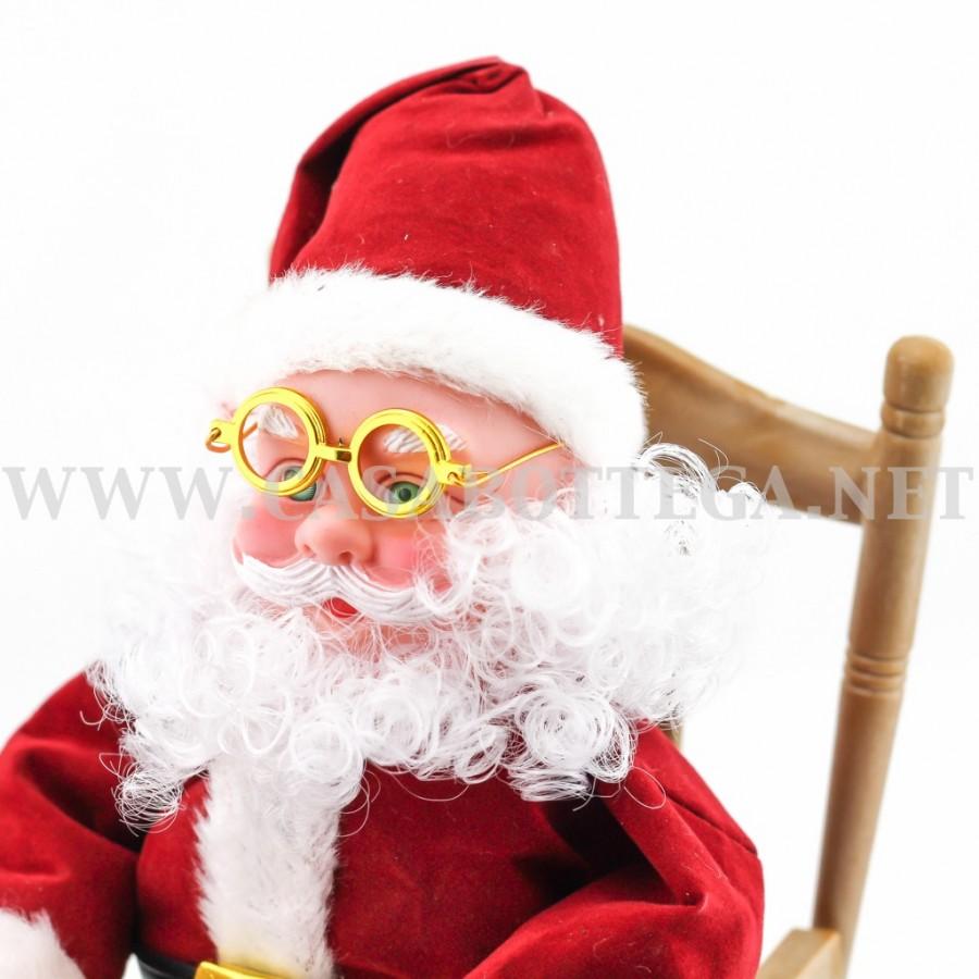 Babbo Natale Sul Dondolo