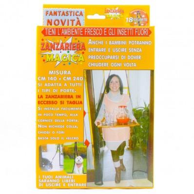 Zanzariera magica 240x140 anti zanzare magnetica - Magic mesh contro insetti e mosche