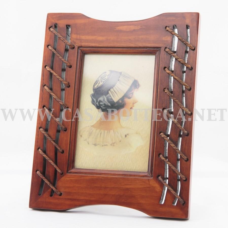 Porta fotografia cornice in legno for Cornice foto legno