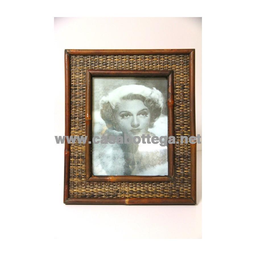 Porta fotografia cornice in legno for Cornici portafoto