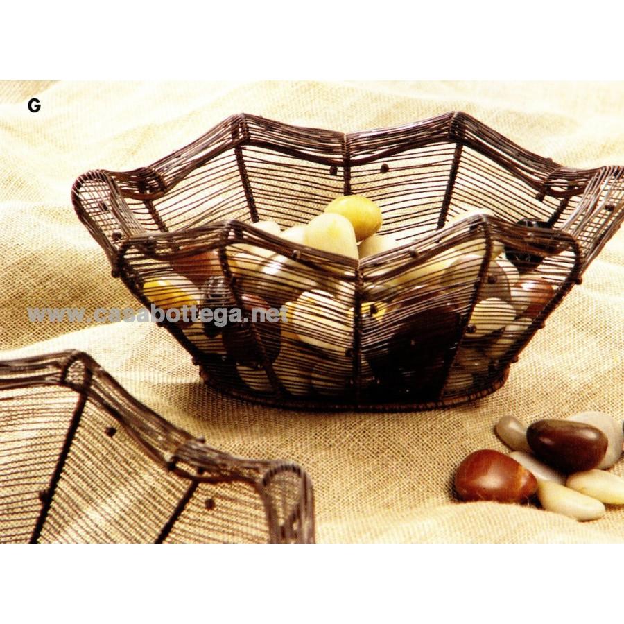 Dimensioni Tavolo Da Cucina : Cestino in ferro dimensioni da cucina tavolo casabottega