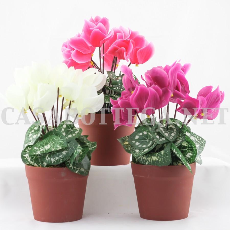 Fiori finti cicalmini fiori artificiali - Piante vaso da esterno con fiori ...
