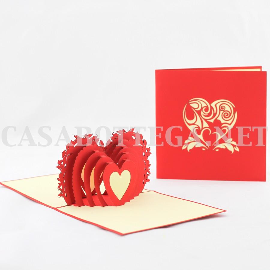 Biglietto Auguri Matrimonio Pop Up : Biglietto auguri d buon compleanno torta kirigami