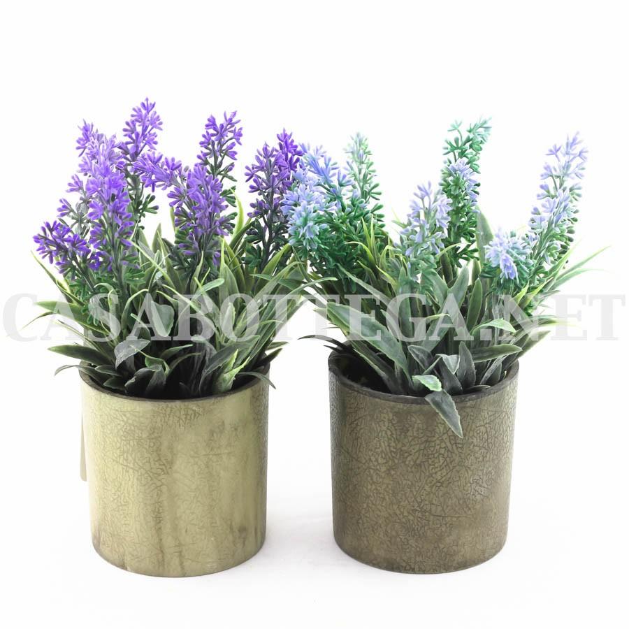 Bouquet lavanda e iuta fiori artificiali casabottega for Fiori artificiali