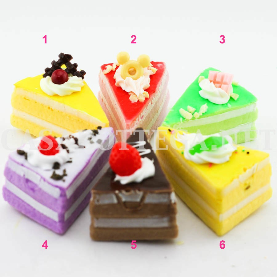 Squishy Di Asemka : Squishy fetta di torta calamita cup cake frigorifero eBay