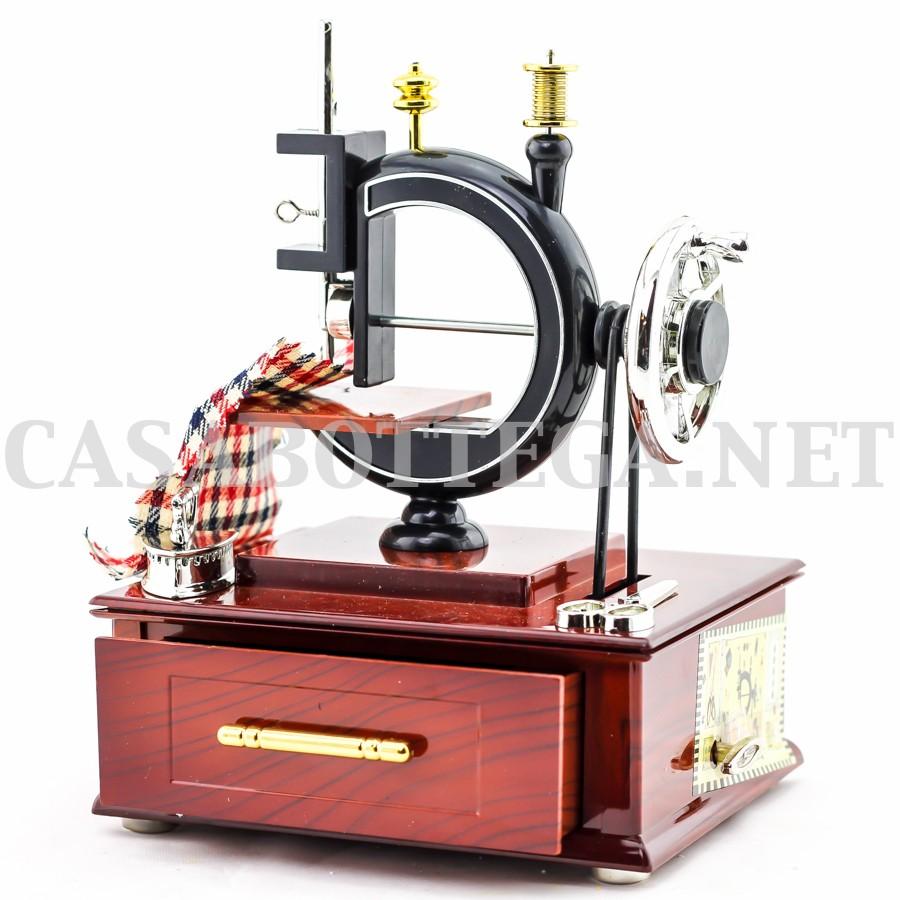 Giostra carillon macchina da cucire in miniatura bomboniera for Victoria macchina da cucire