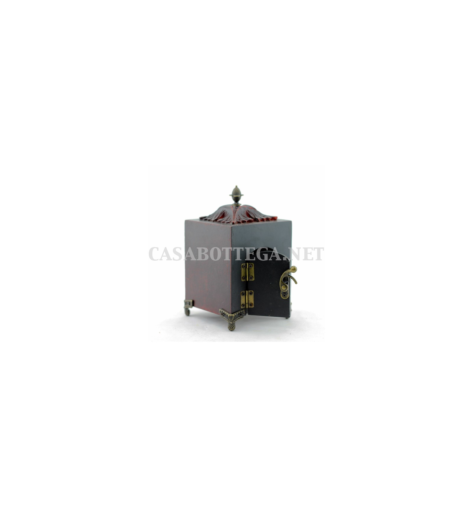 Orologio da tavolo bianco antichizzato casabottega for Orologio da tavolo thun