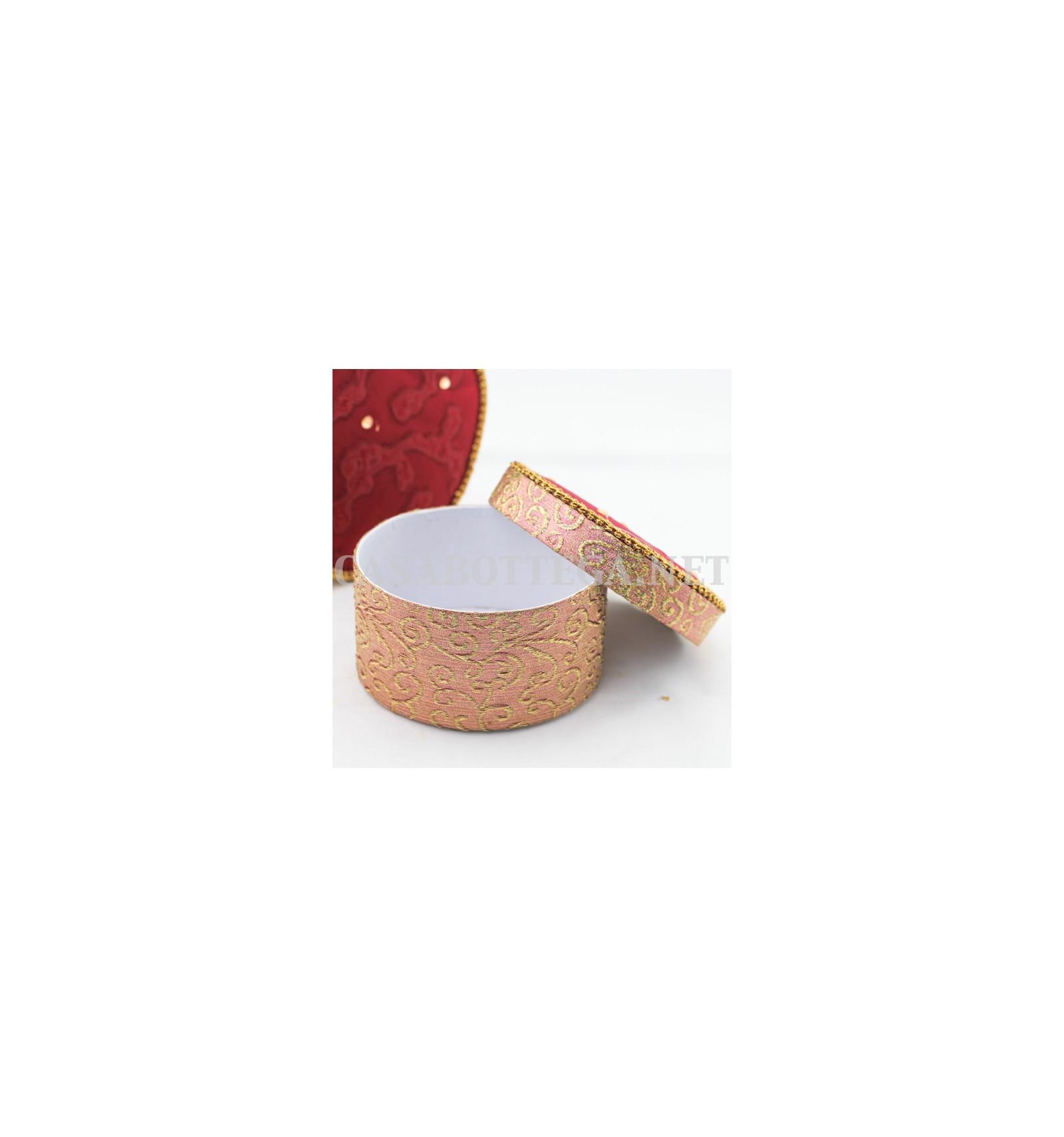 Scatola porta gioie contenitore portaoggetti decorazione for Scatole per armadi in tessuto