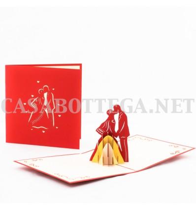 Biglietto Auguri Matrimonio Pop Up : Biglietti di auguri per matrimoni cerimonie