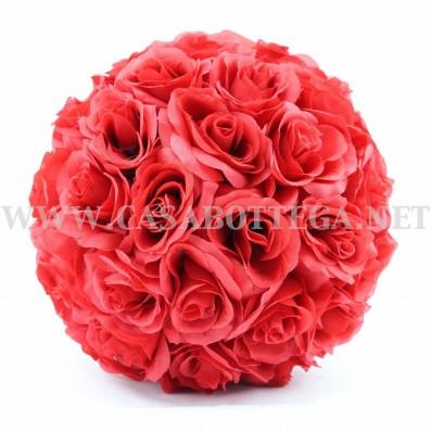 Sfera rose - bosso rose vari colori e dimensioni 15-20-25-30 cm