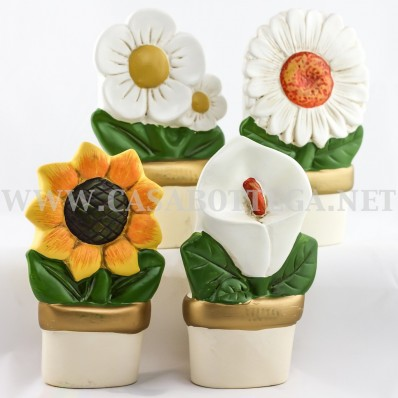 Evaporatore fiore umidificatore termosifone