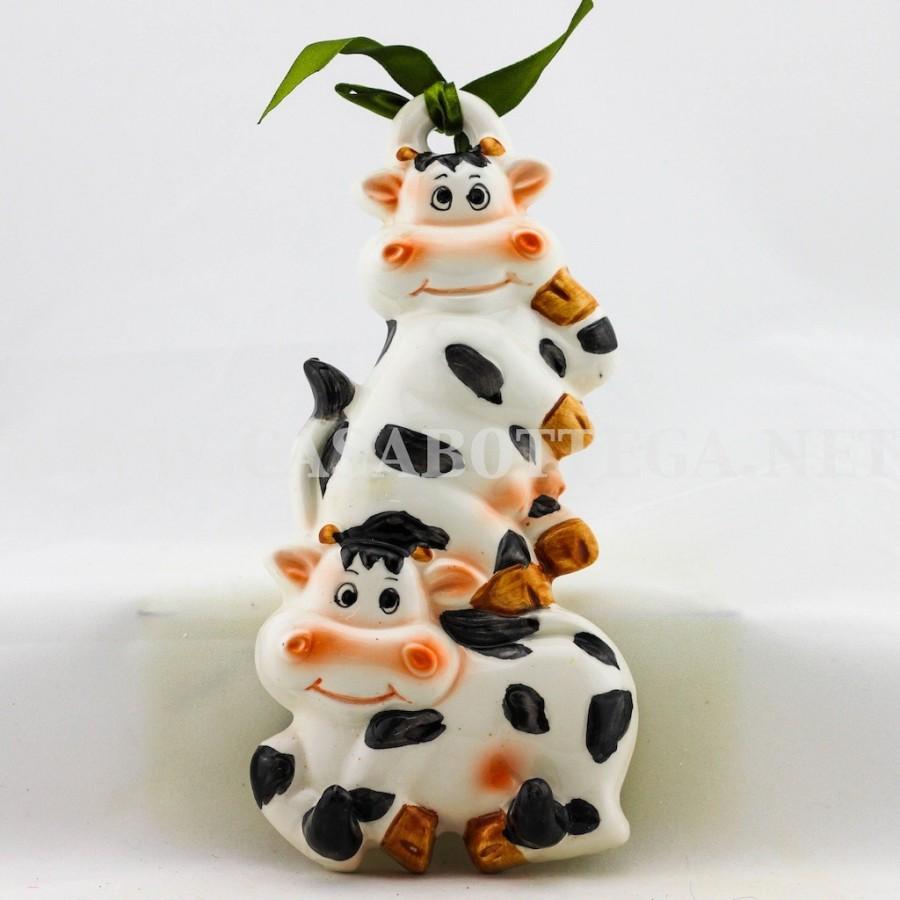 Mucche appendi presina da cucina - CasaBottega